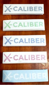 Picture of X-Caliber Logo Decal