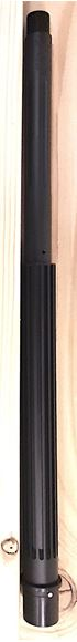 """Picture of X-Caliber AR15 Duty Barrel - 16"""", .223 Wylde, Midlength, Thermal Fluted, QPQ BlackNitride™"""